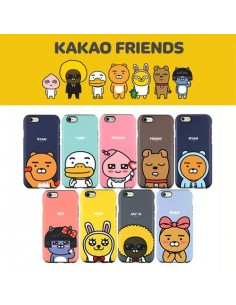 [ KAKAO FRIENDS ] KAKAO Cutie Double Bumper Case For iPhone