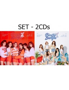 [SET] AOA 5th Mini Album - Bingle Bangle 2 CDs + 2 Posters