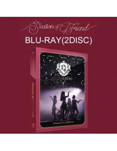 GFRIEND 2018 1st Concert DVD - Season Of GFRIEND DVD(3DISC) + Photobook