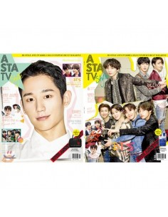 Magazine ASTA TV + style 2018-5 Kang Daniel , TWICE