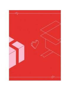 Fromis_9 1st Mini album - To. Heart CD (Blue VER)