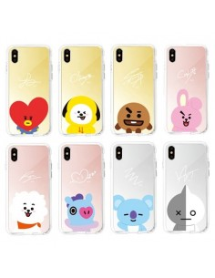[LINE FRIENDS Goods] Guard Up Character Face Phone Case