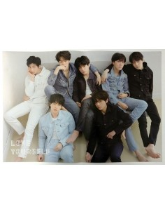 [Poster] BTS - LOVE YOURSELF : 'TEAR' Official Poster(U ver)