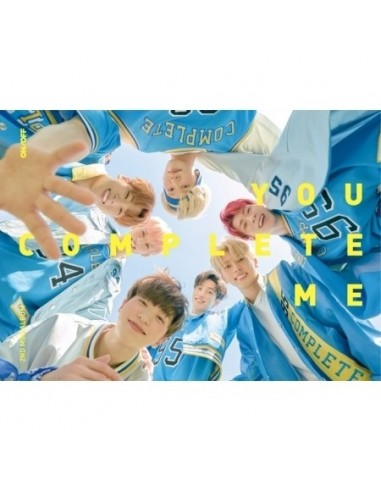 ONF 2nd Mini Album - You Complete Me CD + Poster