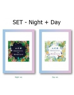 [SET] A.C.E REPACKAGE Album  - A.C.E Adventures in Wonderland 2CDs + Posters