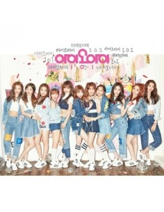 [Re Release] I.O.I 1st Single Album - WHATTA MAN CD + Poster