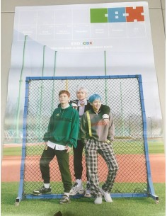 [Poster] EXO - CBX 2nd Mini Album - Blooming Days Poster A ver