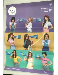 [Poster] TWICE 5th Mini Album - What is Love? Poster(B ver)