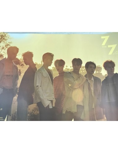 [Poster] GOT7 - 7 FOR 7 CD + POSTER Poster Ver.1