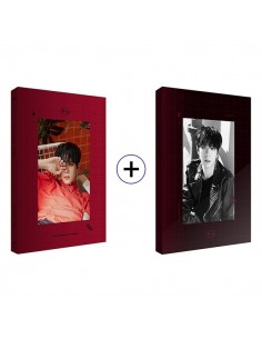 [JBJ] Kim Dong Han 1st Mini Album - D Day(Black Ver) CD + Poster