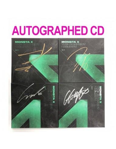[AUTOGRAPHED CD] MONSTA X 6th Mini Album - The Connect : DEJAVU CD (Ver.I)