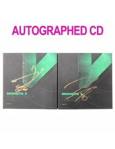 [AUTOGRAPHED CD] MONSTA X 6th Mini Album - The Connect : DEJAVU CD (Ver.II)