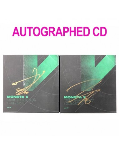 [AUTOGRAPHED CD] MONSTA X 6th Mini Album - The Connect : DEJAVU CD (Ver.II)