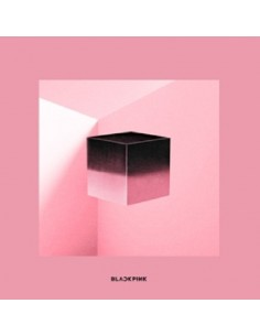BLACKPINK 1st Mini Album - Square Up(Black ver) CD + Poster