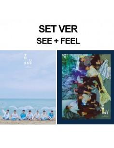 BTOB 11th Mini Album - This is Us(FEEL Ver) CD + Poster