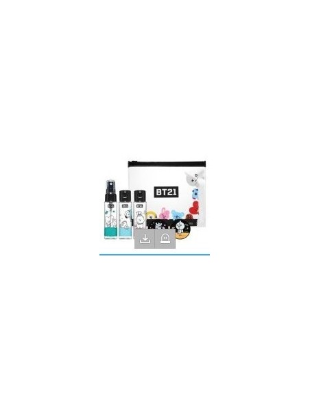 [BT21] Oliveyoung Collaboration - Cosmetics Empty Bottle Kit