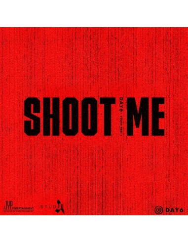 DAY6 3rd Mini Album - Shoot Me : Youth Part 1(Random Ver) CD + Poster