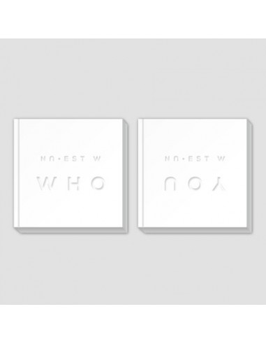 [SET] NU'EST W Album - WHO, YOU CD + Poster (WHO + YOU)