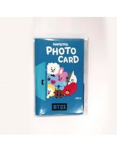 [BT21] Amazing Photocard Set Ver.1
