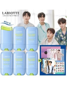 [LABIOTTE] Blue Safety Sun Stick + NU'EST Goods Package