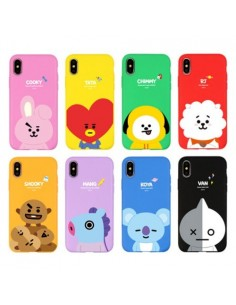 [BT21] Jell Hard Phone Case