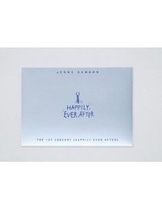 Jeong Sewoon 1st Concert Goods - Postcards SET - Happily Ever After Ver