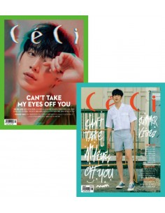 Magazine CeCi Another Choice 2018-6 Wanna One Type.B + Poster