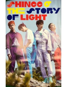 [Poster] SHINEE 6th Album - The Story Of Ligth EP.1 Poster(Ver B)