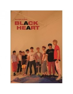UNB 2nd Mini Album - Black Heart(Black ver) CD + Poster