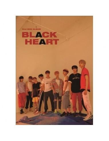 UNB 2nd Mini Album - Black Heart(Black ver) CD + Poster