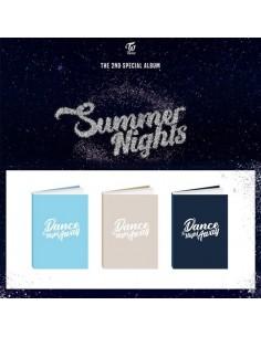 TWICE 5th Mini Album - What is Love? (Random ver) CD + Poster
