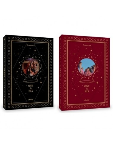 APINK 7th Mini Album - ONE & SIX (ONE ver) CD + Poster