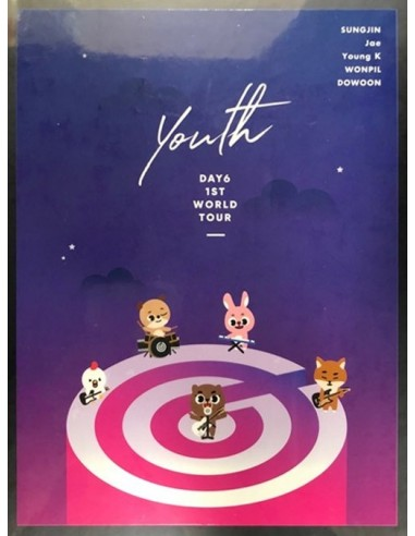 DAY6 Youth Official Goods - Ticket Book