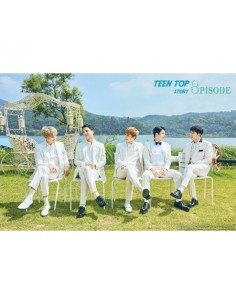 TEEN TOP 8th Mini Album - Seoul Night(B ver) CD + Poster