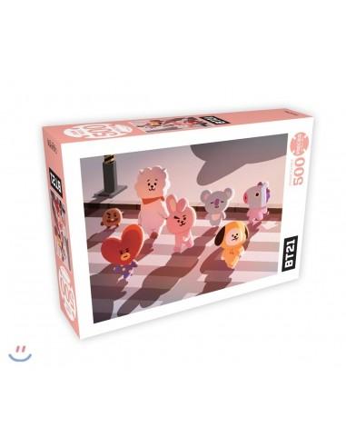 [BT21] 500 Piece Jigsaw Puzzle - In New York City