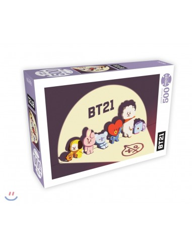 [BT21] 500 Pieces Jigsaw Puzzle - In New York City