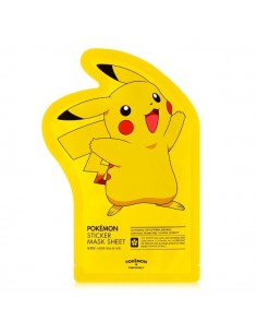 [TONYMOLY] PIKACHU Sticker Mask Sheet