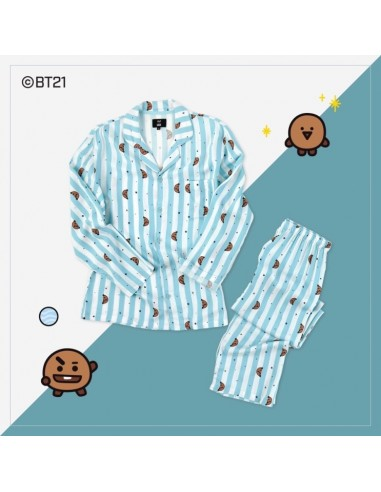 XS~XL BTS BT21 Official Authentic Goods Pajamas with tracking number