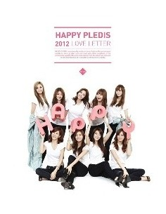 After School, Son Dam Bi Happy PLEDIS 2012: Love Letter CD