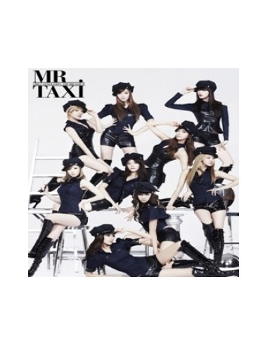 Girls Generation SNSD 3rd Album - Mr. Taxi Version CD + Poster