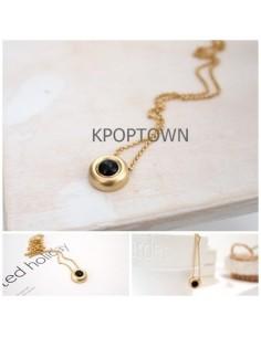 [TV36] TVXQ JYJ Micky Yuchun Style Golden Bell Necklace