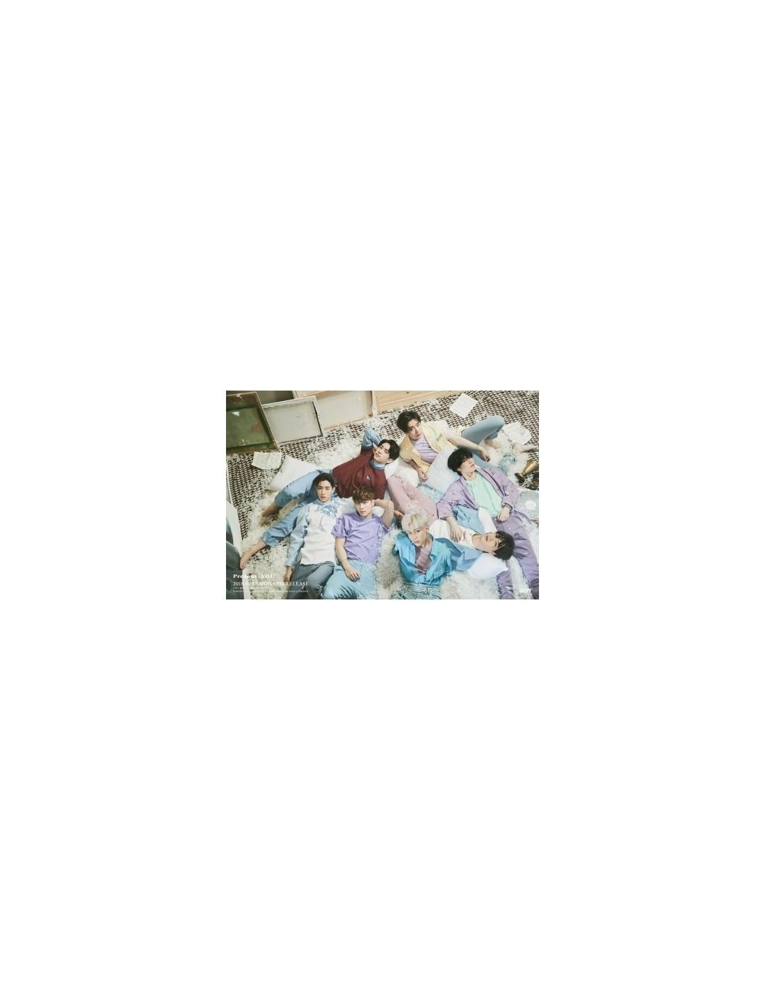 got7 vol 3 album present you cd poster