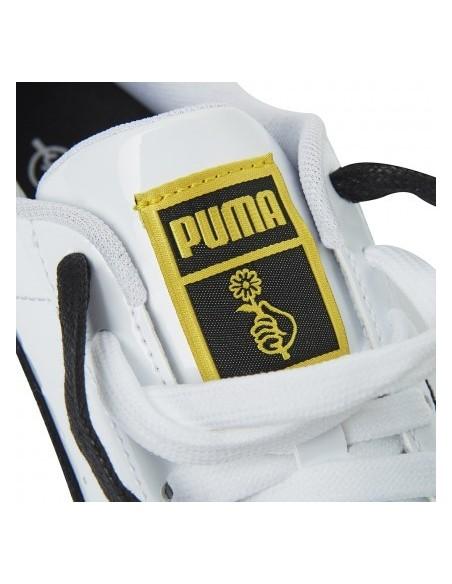 BTS. x PUMA Basket Patent Sneakers