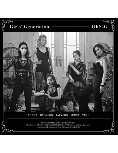 [KIHNO] Girls Generation SNSD OH!GG Single Album - 몰랐니 Kihno + Poster