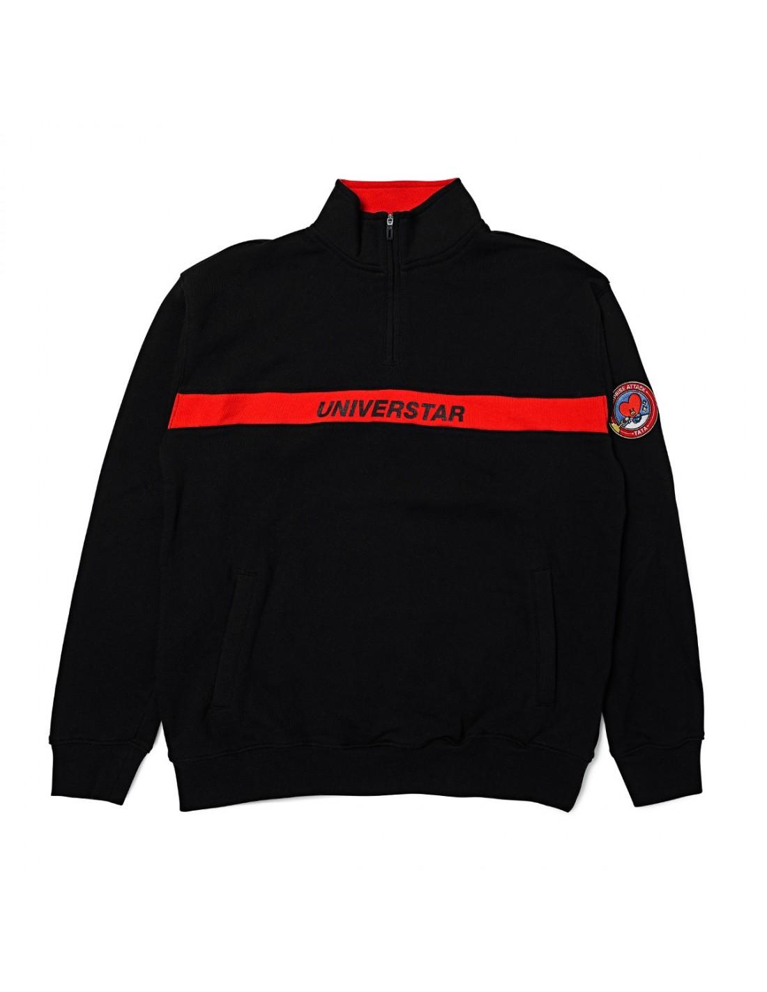 1e25c60de901 BT21  BTS Line Friends Collaboration - Half Zip Up Sweatshirt