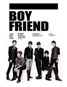 Boy Friend Boyfriend 3rd Single Album - I'll Be There CD + Poster