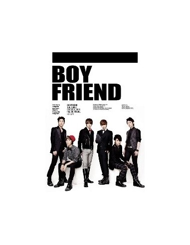 Boy Friend Boyfriend 3rd Single Album - I'll Be There CD + Poster