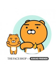 [Thefaceshop] KAKAO FRIENDS CC Intense Cover Cushion (RYAN) 15g * 2