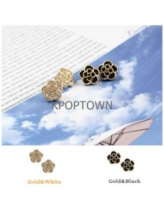 [GS01] Girlish Style Pulse Flower Earring