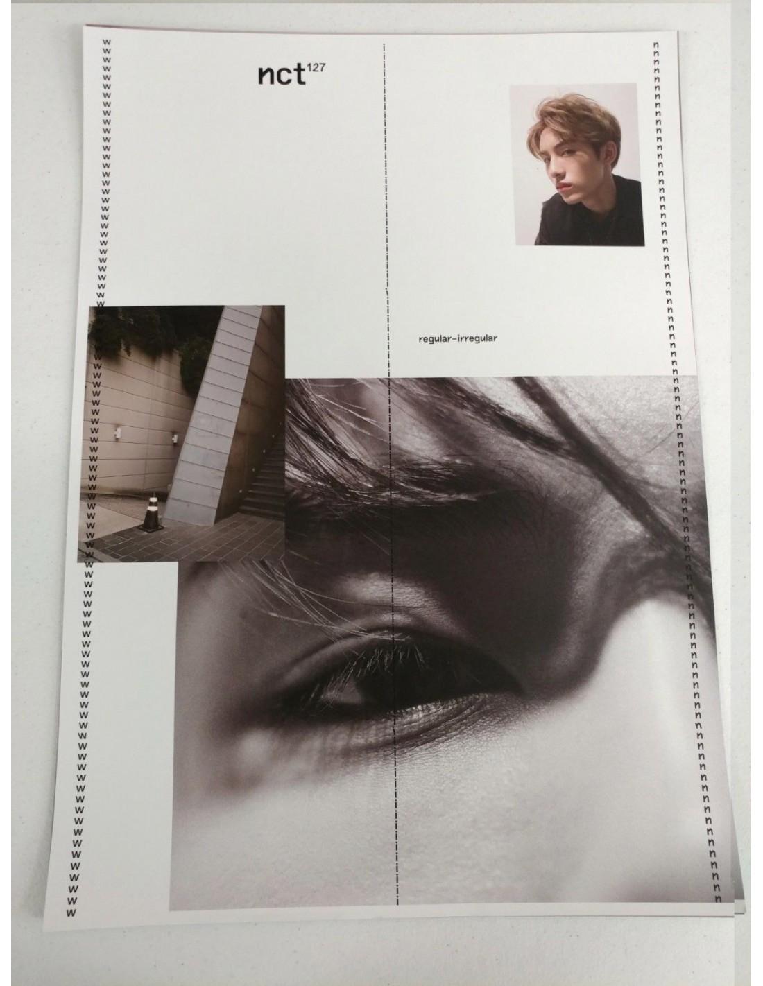 Poster SET] NCT 127 First Album Vol 1 - NCT 127 Regular